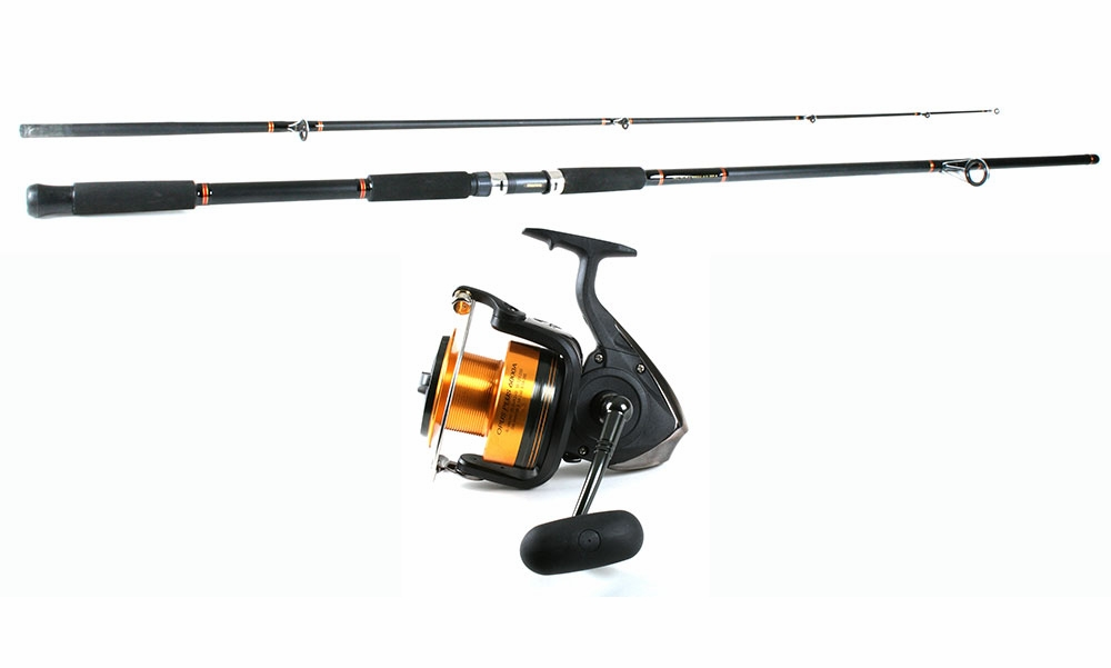 Daiwa opus plus a reel daiwa beefstick rod combo for Saltwater fishing rod and reel combos