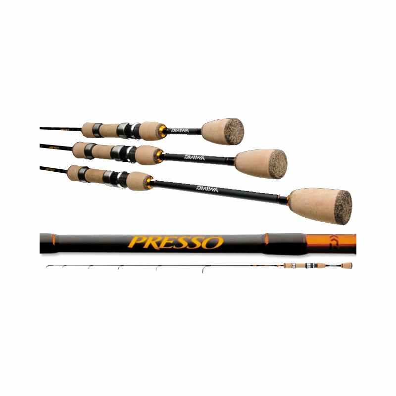 daiwa presso ultralight spinning rods tackledirect