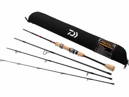 Daiwa PSO664ULFS-TR Presso Ultralight 4pc Pack Spinning Rod
