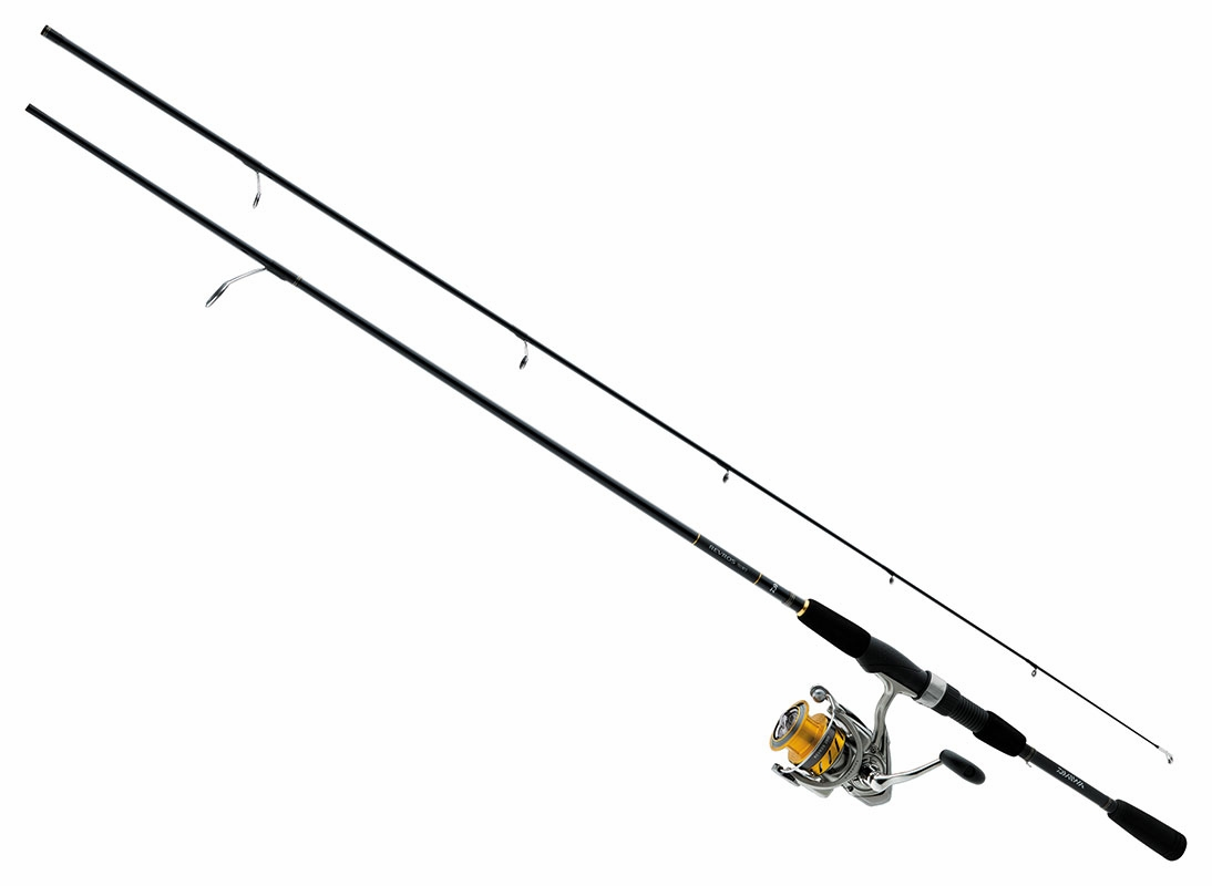 Daiwa rev25 4bi g702m revros freshwater spinning combo for Saltwater fly fishing combo