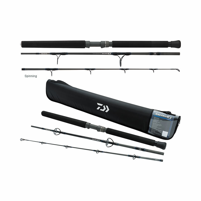 Daiwa saltiga g boat travel rods tackledirect for Fishing rod travel tubes