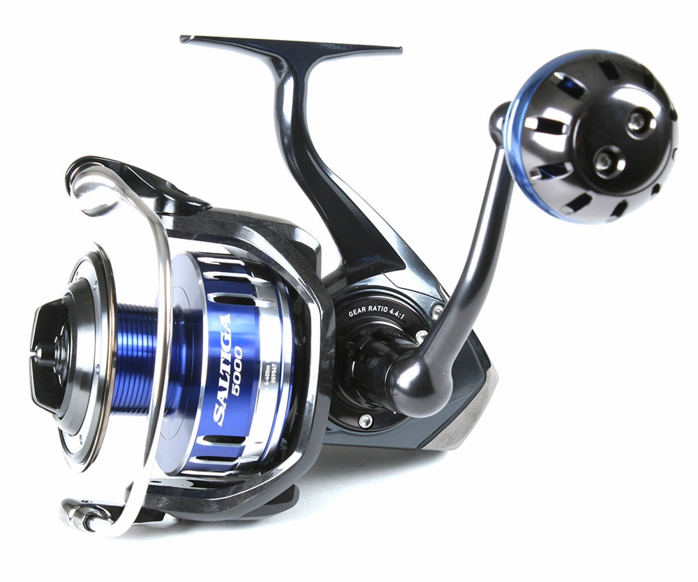 Daiwa saltiga spin reel century stealth rod combo for Shark fishing rods