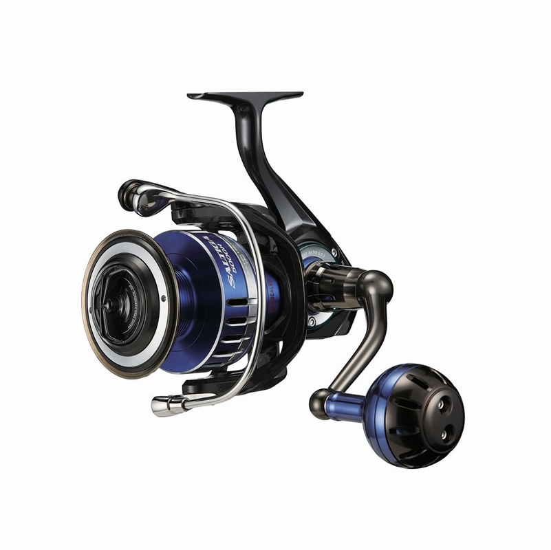Daiwa saltiga spin reel century sling shot combo for Surf fishing reels