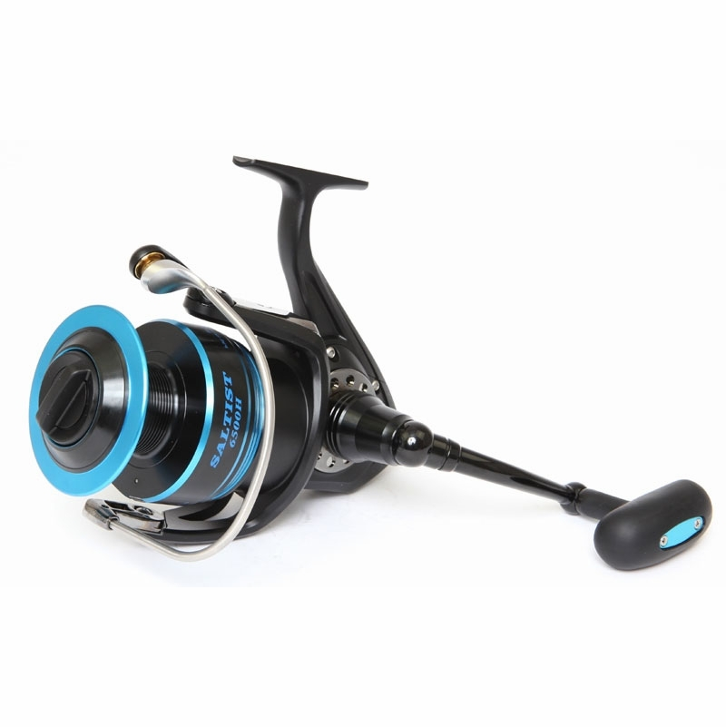Daiwa saltist spin reel st croix 12ft legend surf rod for Surf fishing reel