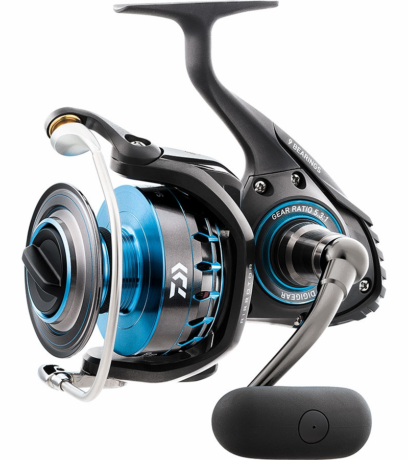 Daiwa saltist4000 saltist spinning reel tackledirect for Daiwa fishing reels