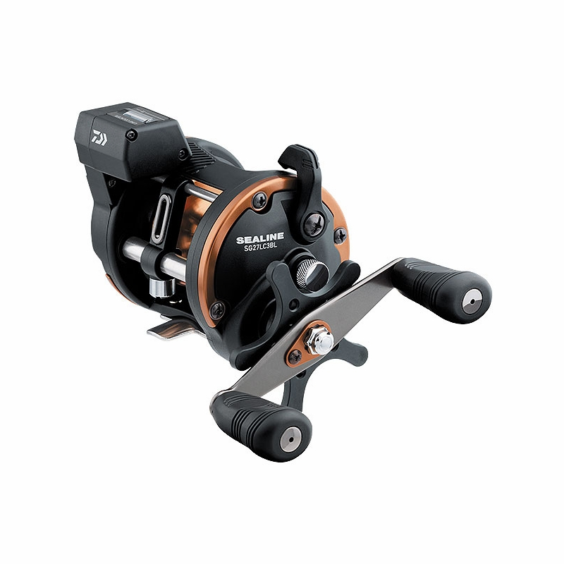 Daiwa Sg27lc3blw Sealine Line Counter Reel Left Hand