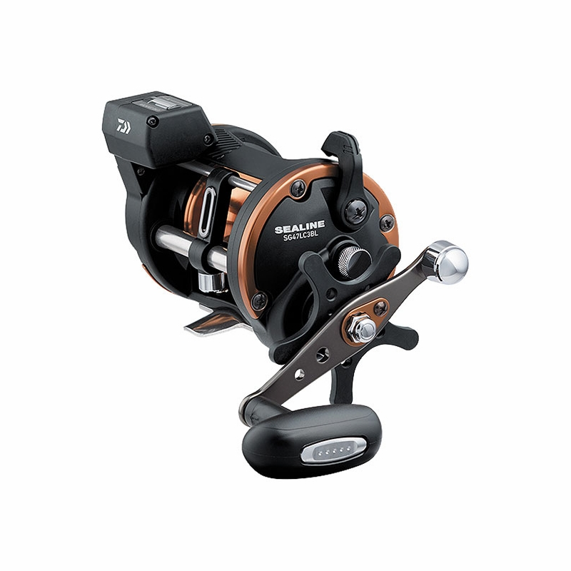 Daiwa Sg47lc3bl Sealine Line Counter Reel Left Hand