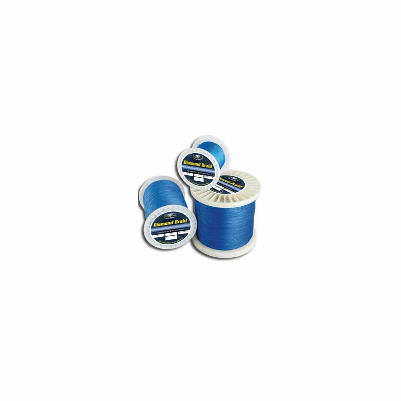 diamond braid fishing line 300yds blue tackledirect