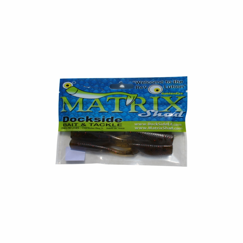 b429f8096e Dockside Bait and Tackle Matrix Shad Soft Bait - Avocado