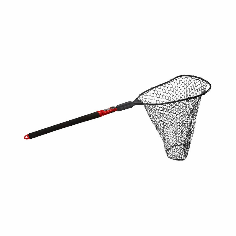 Ego s2 slider 72035 large landing net deep rubber mesh for Rubber fishing nets