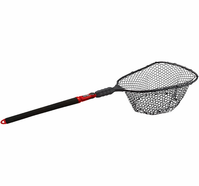 Ego s2 slider 72051 large landing net rubber mesh for Rubber fishing nets