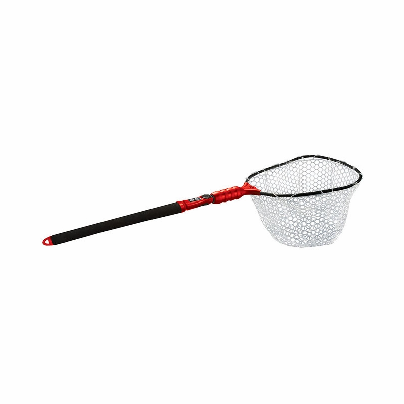 Ego s2 slider 72067 medium landing net tackledirect for Rubber fishing nets