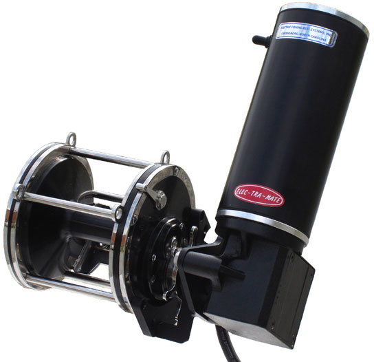 Elec tra mate 1412 gh electric reel drive for penn models for Electric fishing rod