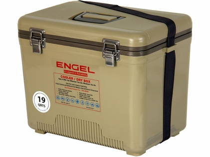 Engel UC19-T Cooler/Dry Box 19Qt Tan