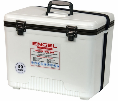 30-Quart Engel Ultra-Cool UC30 Ultimate Air Tight Ice//Dry Box Cooler
