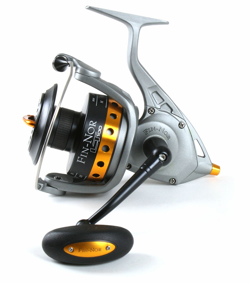 Fin nor lethal spin reel shimano tiralejo spin combo for Fishing rods and reels