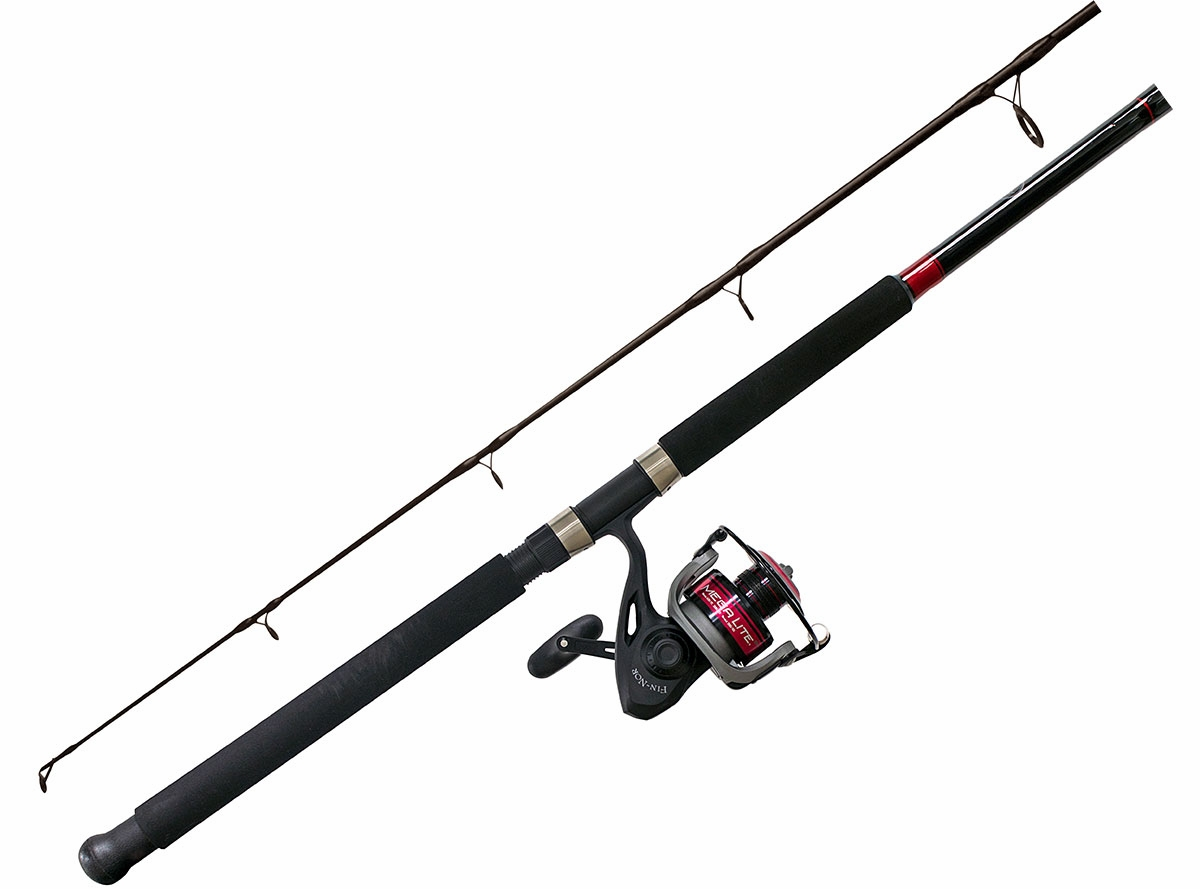 Fin nor mega lite spinning combos tackledirect for Saltwater fly fishing combo