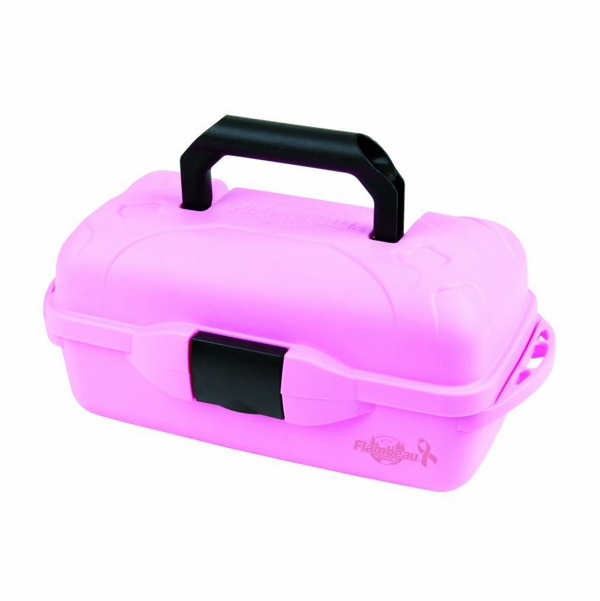 Flambeau 1 tray pink tackle box tackledirect for Pink fishing gear
