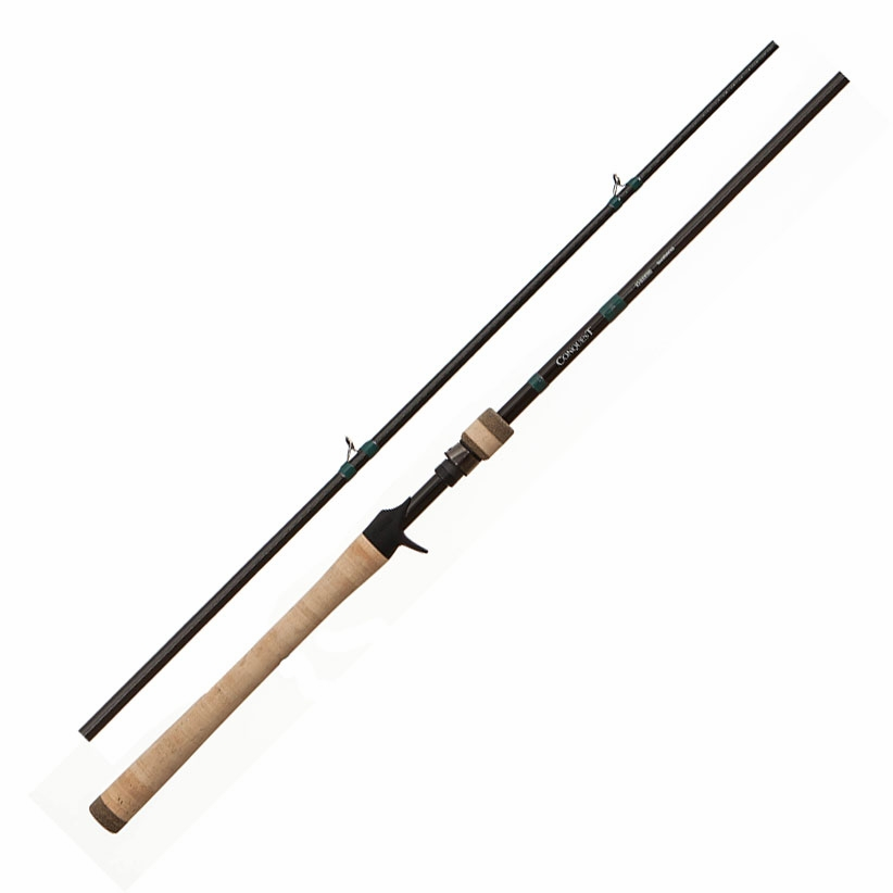 G loomis conquest mag bass casting rods tackledirect for Loomis fishing rods