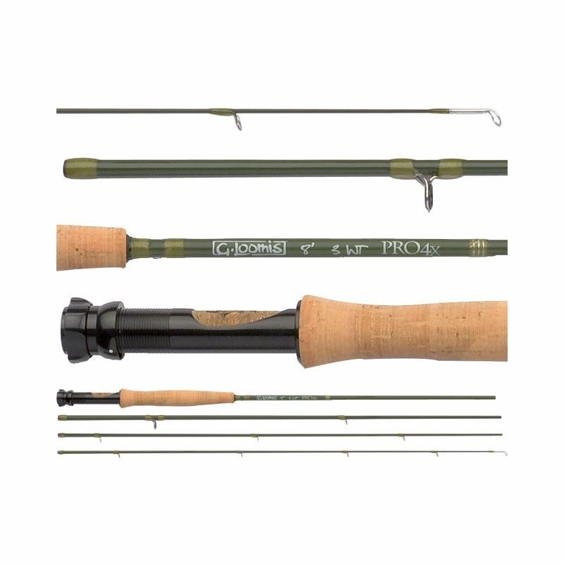G Loomis Pro4x Fly Rods Tackledirect