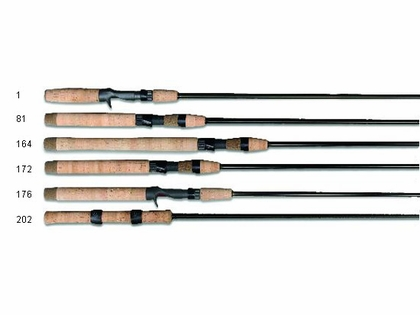 G-Loomis Smallmouth Bass Bronzeback Rods