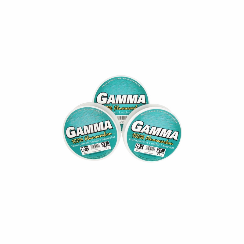 Gamma fluorocarbon leader line for Gamma fishing line
