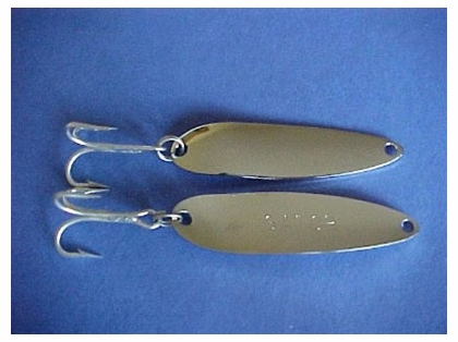 Gator Lures Stainless Steel Gator Spoons