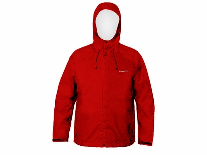 Grundens Weather Watch Hooded Jacket Red