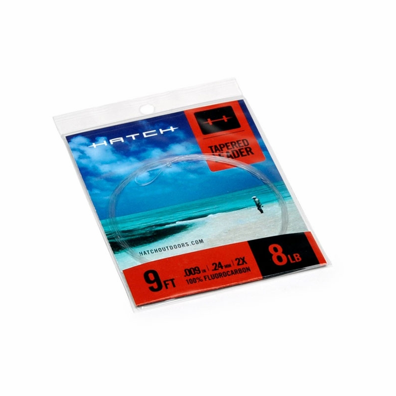 Hatch fly fishing saltwater tapered leaders tackledirect for Hatch fly fishing
