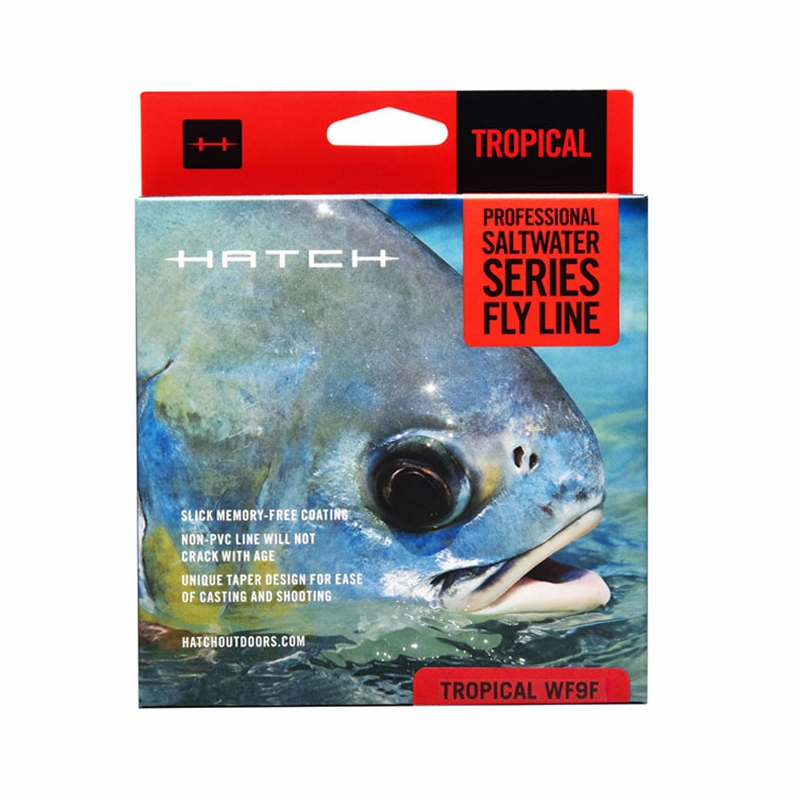 Hatch hfl w9f saltwater floating fly fishing line for Hatch fly fishing