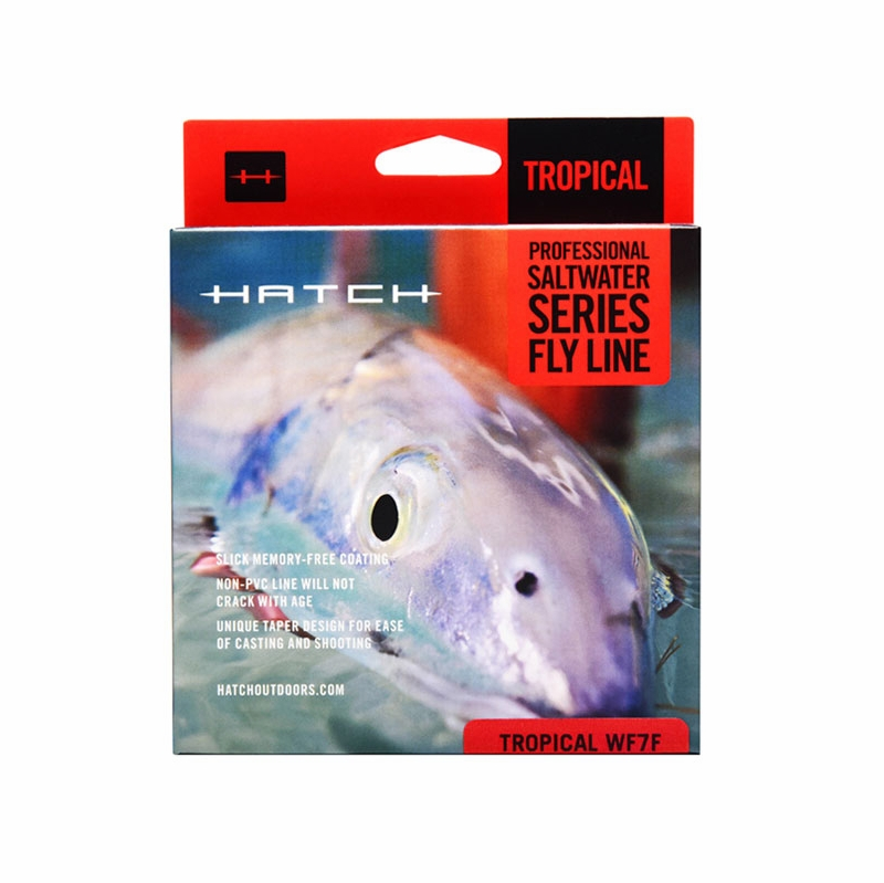 Hatch saltwater floating fly fishing lines tackledirect for Hatch fly fishing