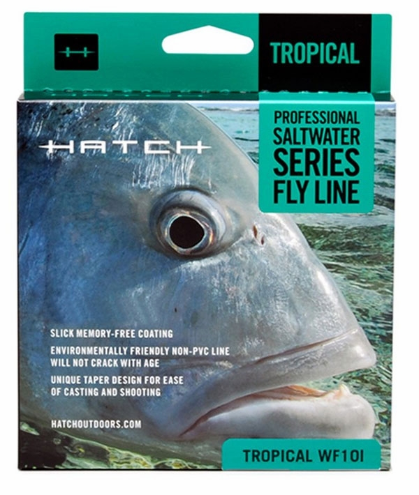 Hatch saltwater intermediate fly fishing lines for Hatch fly fishing