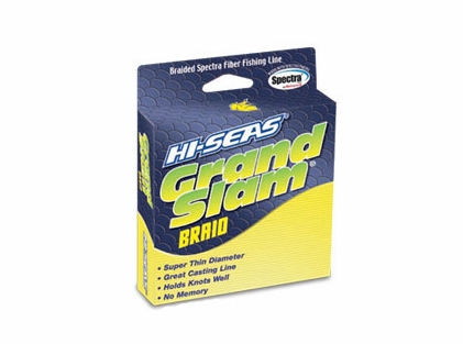 Hi-Seas GSB-F300-20FY Grand Slam Braid 300yds