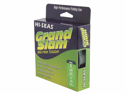 Hi-Seas Grand Slam Mono 1/4 lb. Spool Smoke Blue