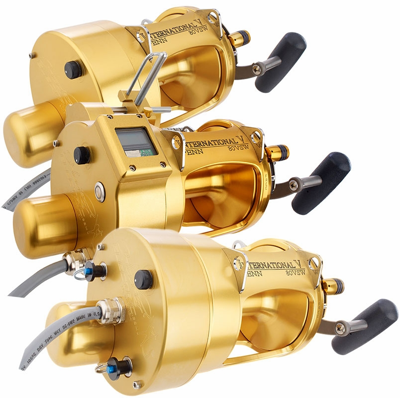 Hooker penn international 80vsw electric reels tackledirect for Electric fishing rod