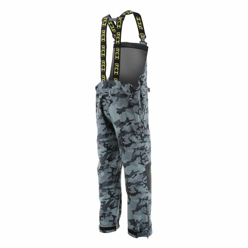Huk all weather bib black camo for Huk fishing gear