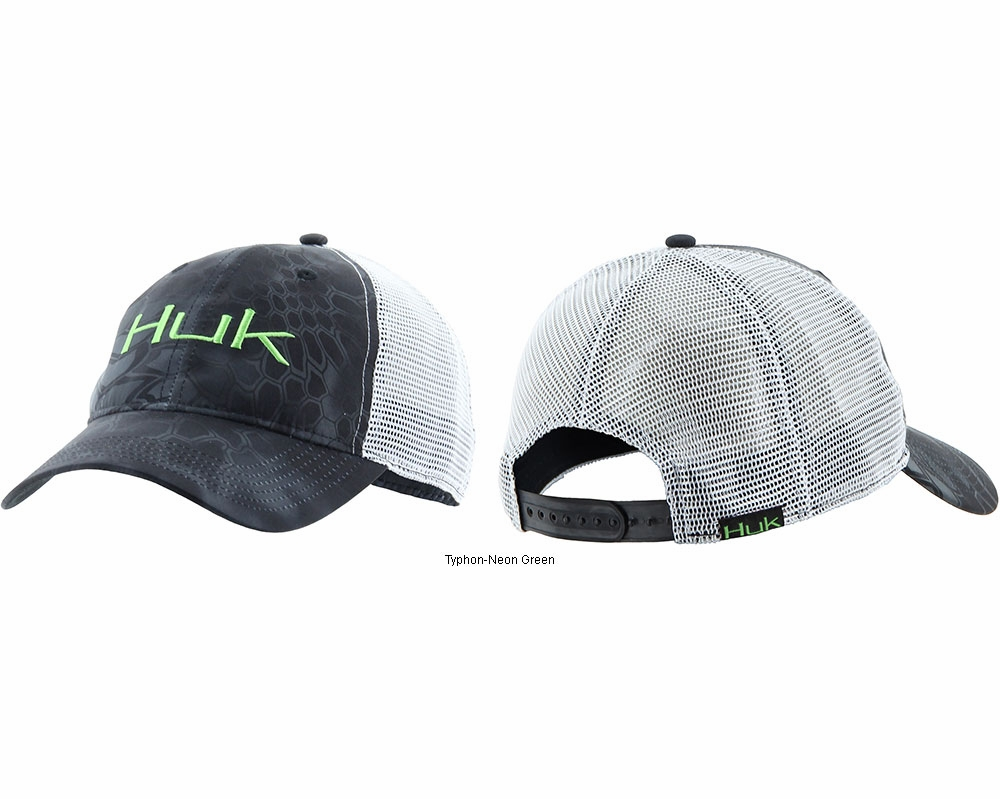 Huk kryptek logo trucker cap tackledirect for Huk fishing gear