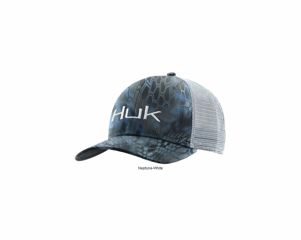 24068f51 Huk Kryptek Logo Trucker Cap | TackleDirect