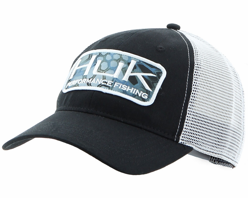 huk kryptek patch trucker hat tackledirect