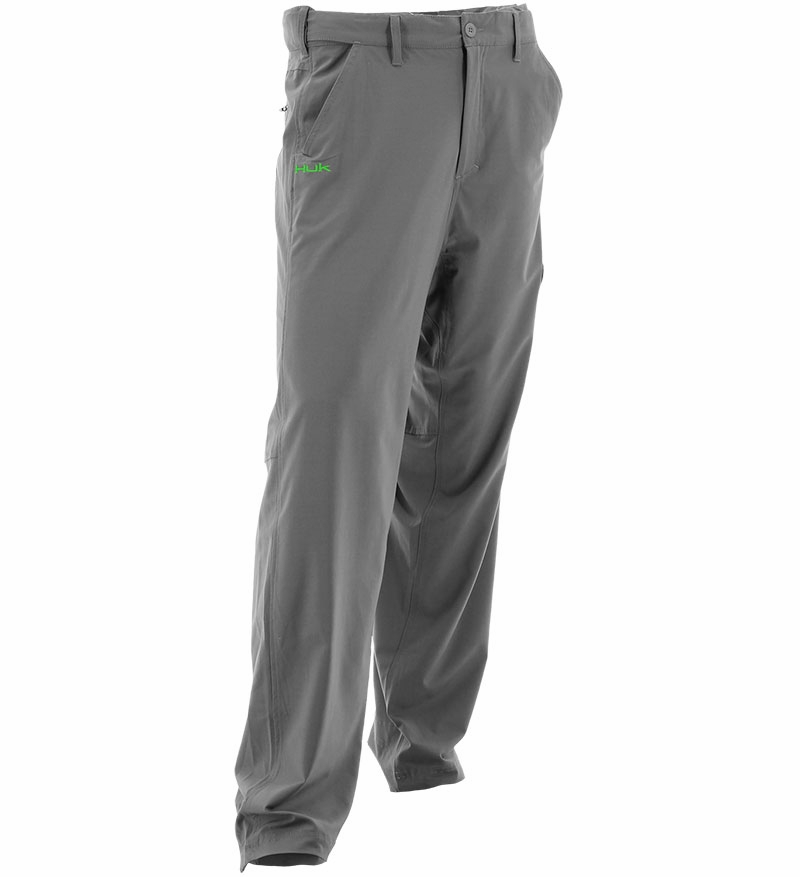Huk next level pant charcoal tackledirect for Huk fishing shorts