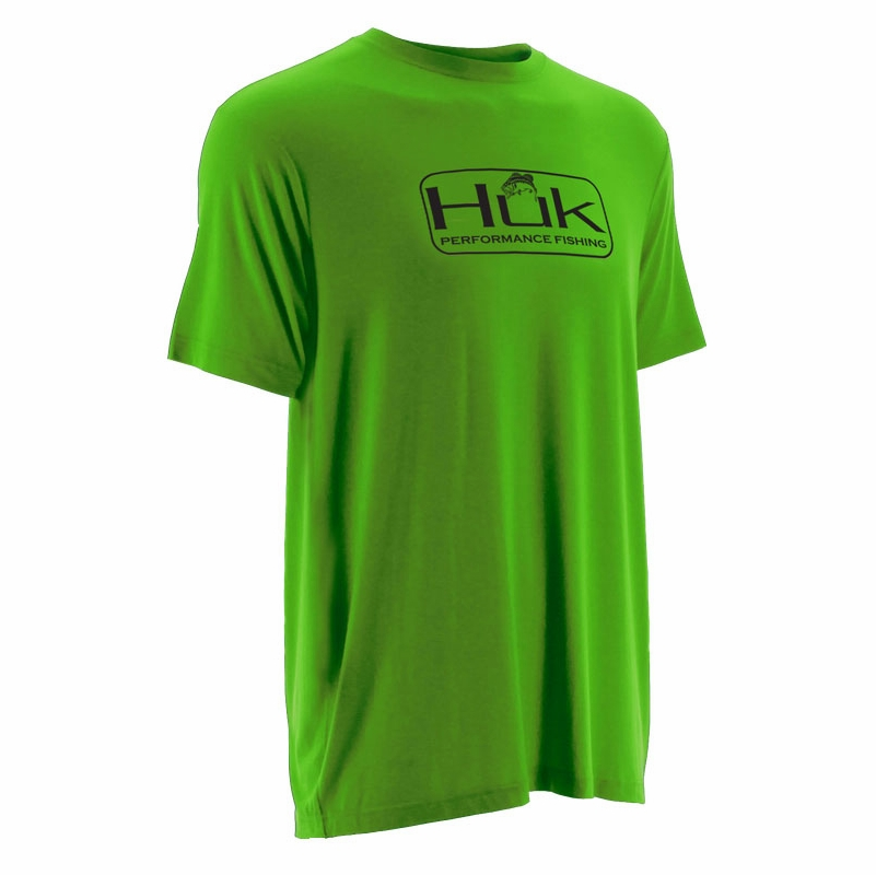 Huk performance fishing huk bass logo t shirts tackledirect for Huk fishing gear