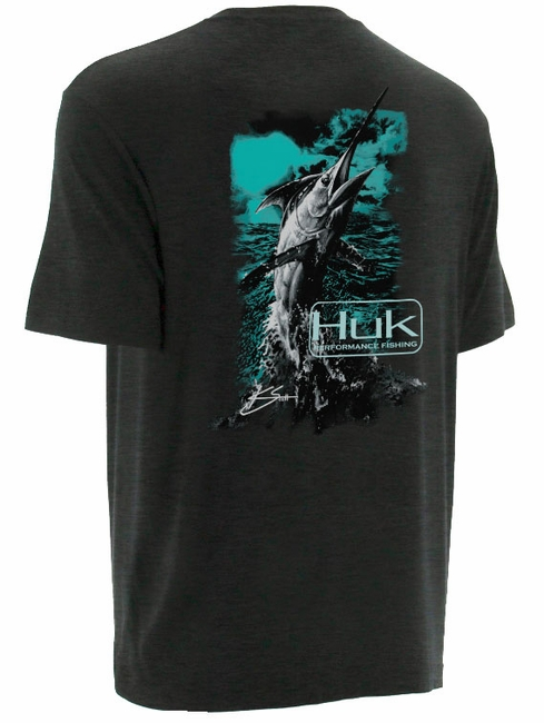 Huk performance fishing huk k scott marlin t shirts for Huk fishing gear