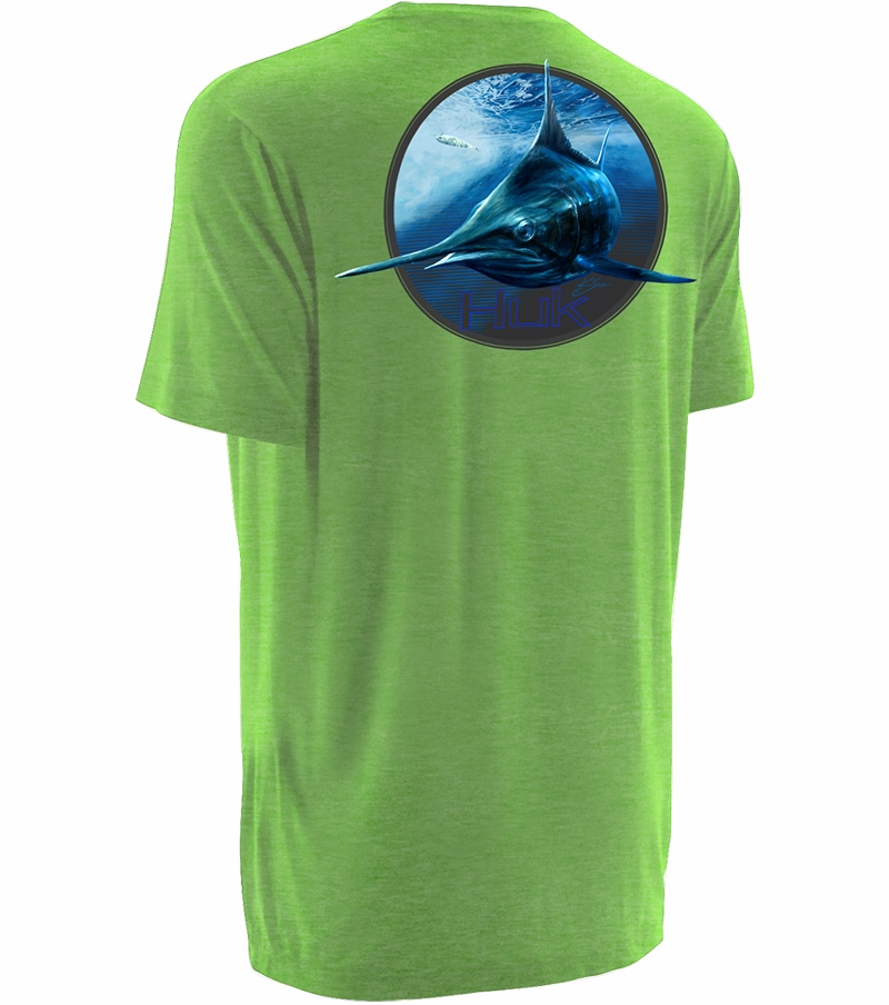 Huk performance fishing huk k scott northdrop t shirts for Huk fishing shorts