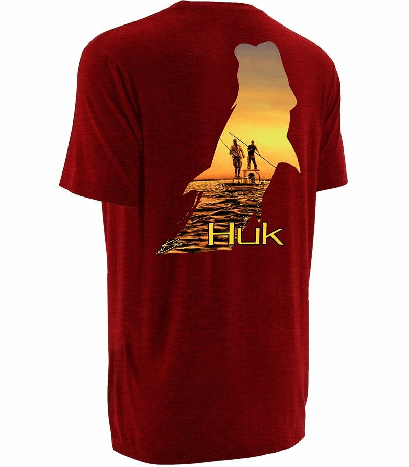 Huk performance fishing huk k scott twilight t shirts for Huk fishing gear