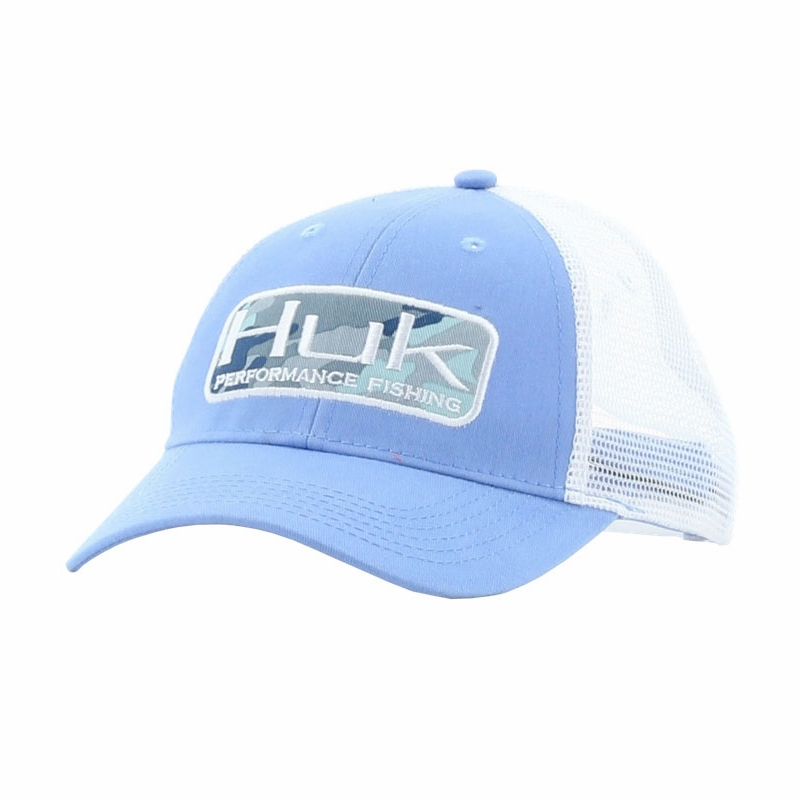 huk performance fishing huk patch trucker cap tackledirect