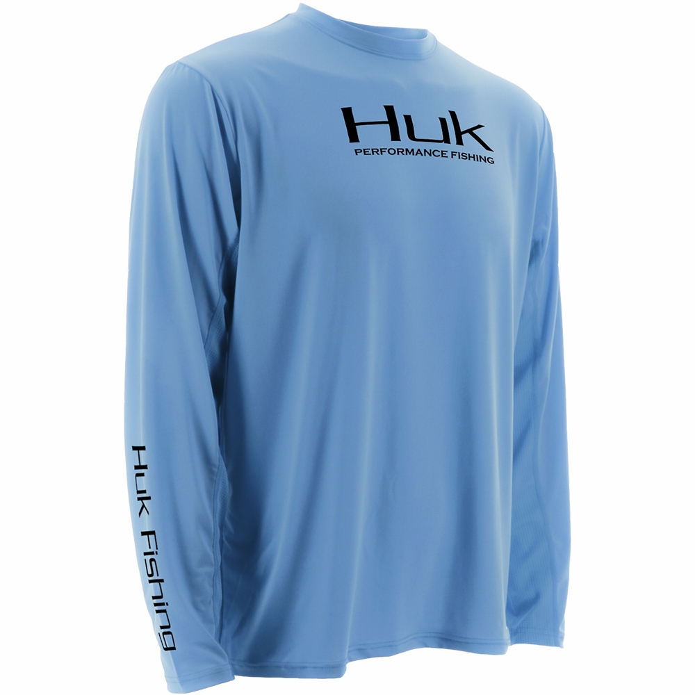 huk performance fishing huk performance icon ls shirts