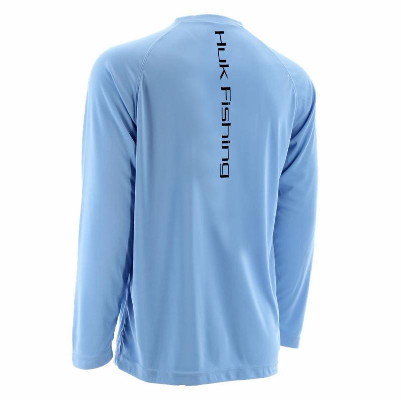 huk performance fishing huk redfish logo long sleeve