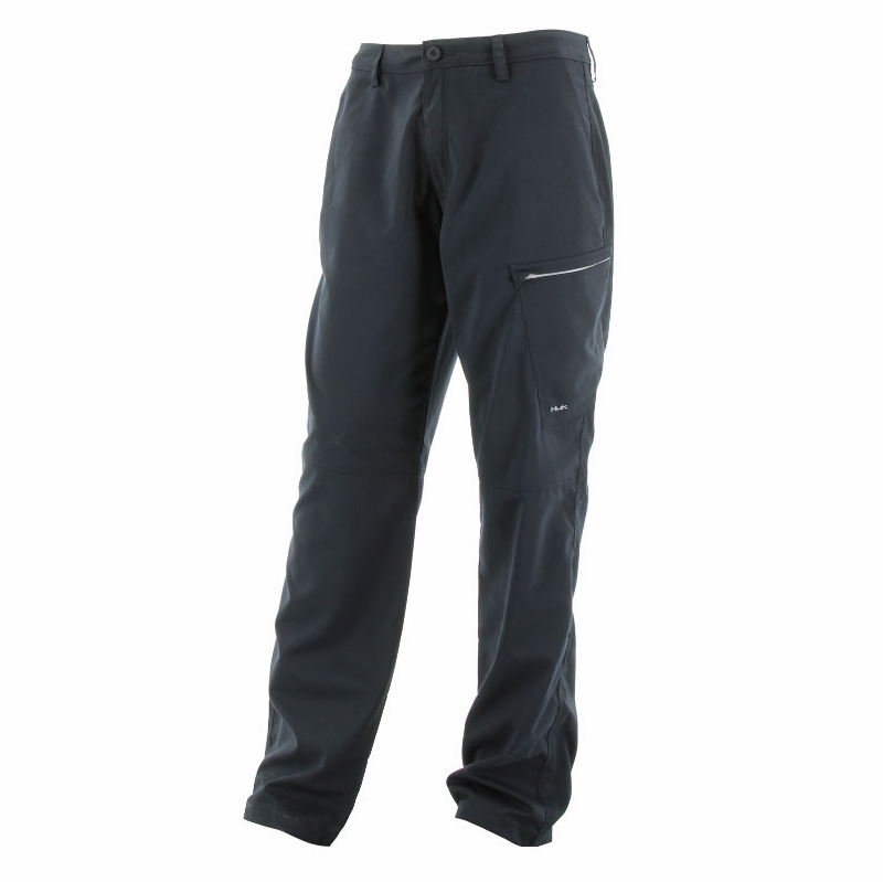 huk performance fishing hybrid lite pant black