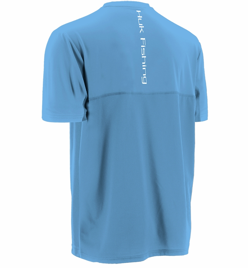 Huk performance fishing icon short sleeve t shirts for Huk fishing gear