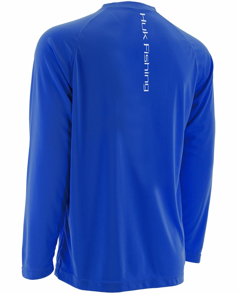 Huk performance raglan long sleeve shirts tackledirect for 13 fishing apparel